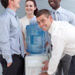 Fontaine à eau au bureau