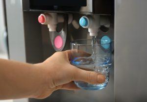 Fontaine eau sur réseaux